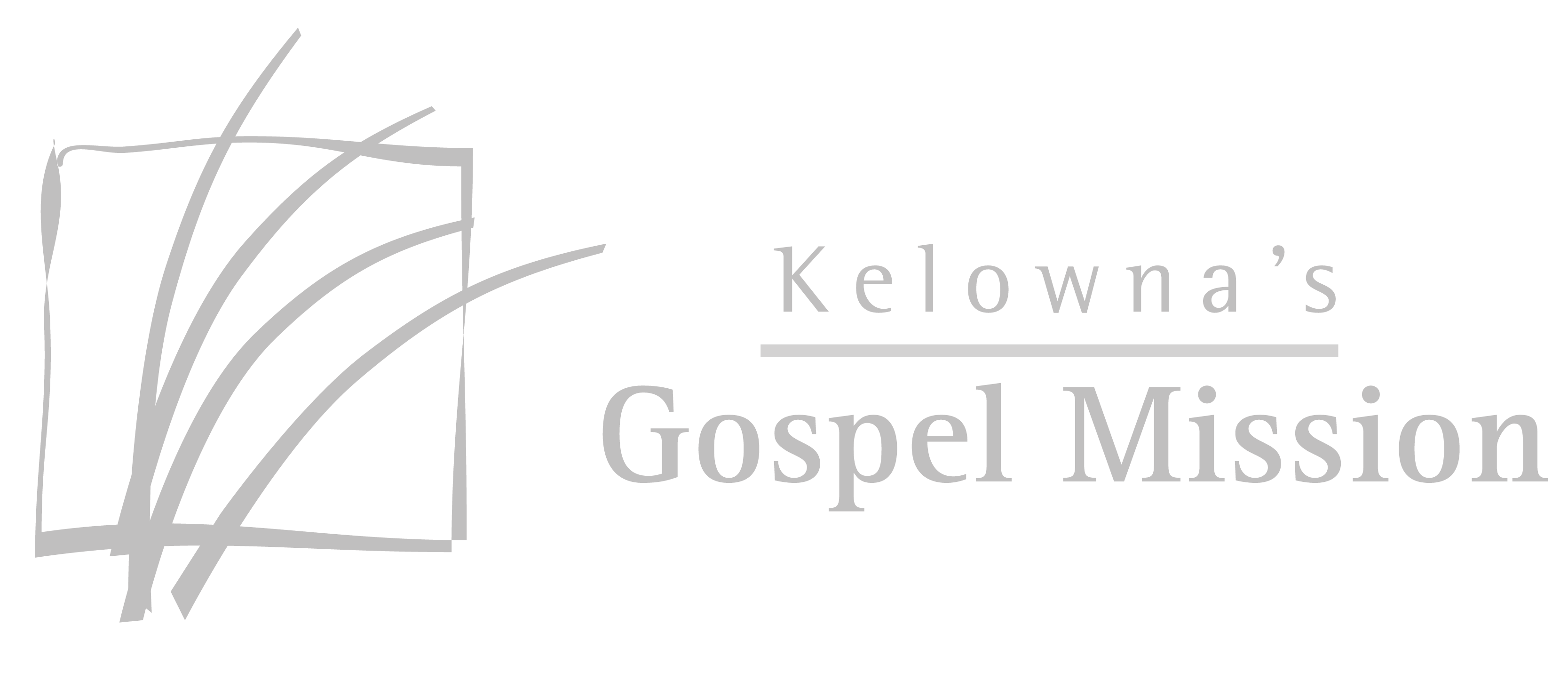 Kelowna's Gospel Mission Logo